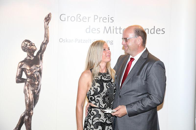 """Wir sind Finalist beim """"Großen Preis des Mittelstandes""""!"""