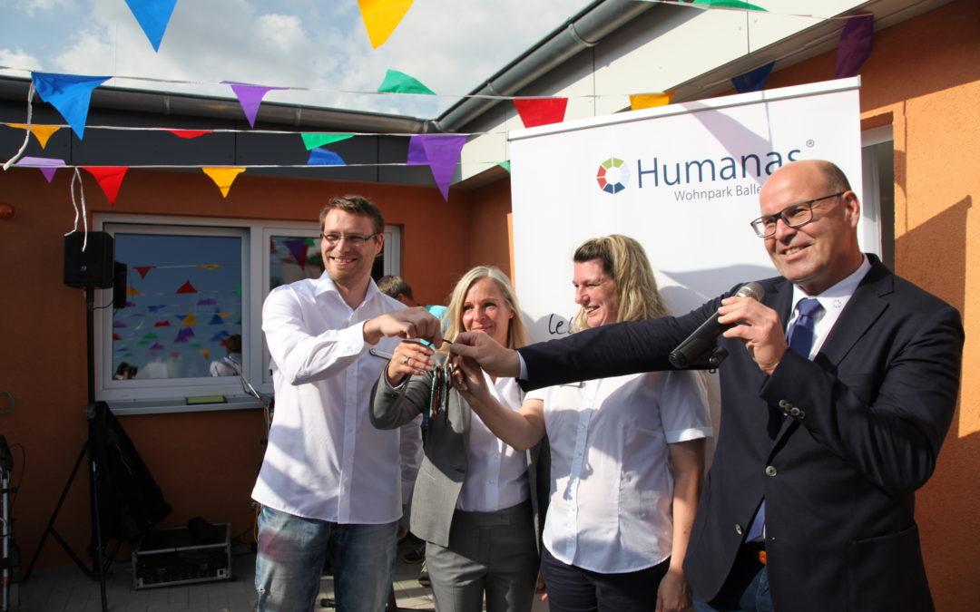 Humanas – Wohnpark in Ballenstedt feierlich eröffnet!