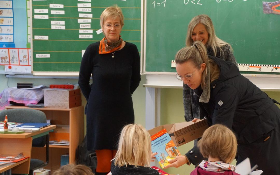 Überraschung für kleine'Leseratten' in Colbitz