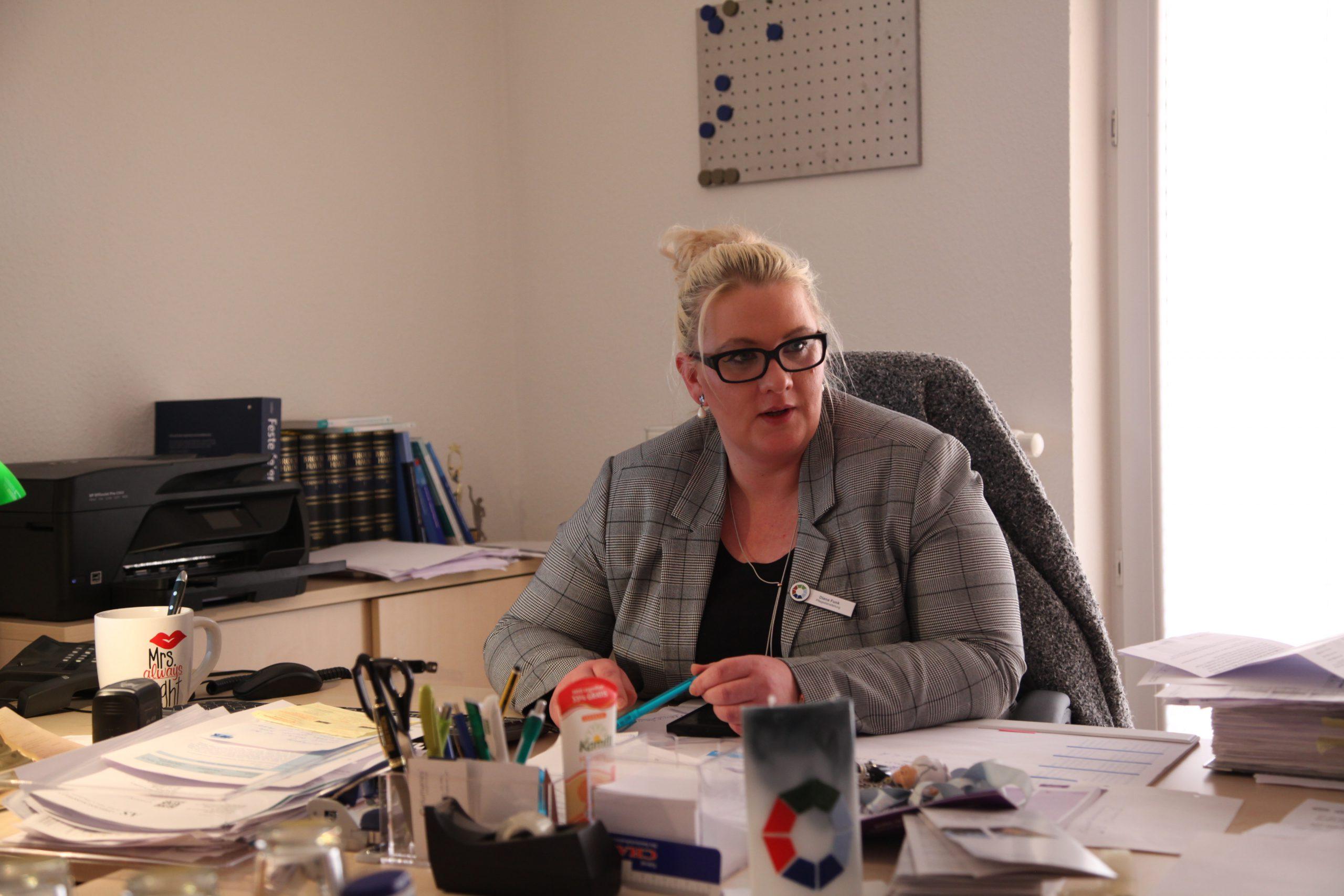 Pflegedienstleiterin Diana Funk
