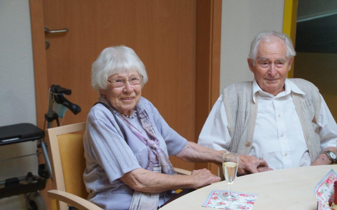 Seit 70 Jahren gemeinsam durchs Leben