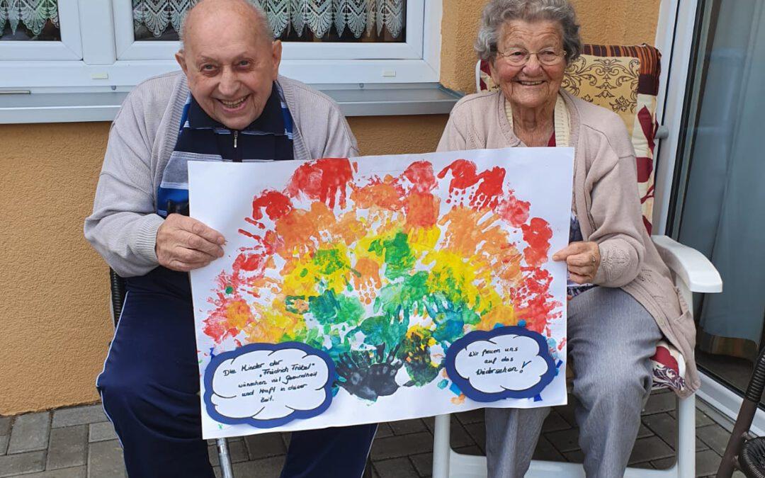 Farbenfreude bei jung und alt in Tangerhütte